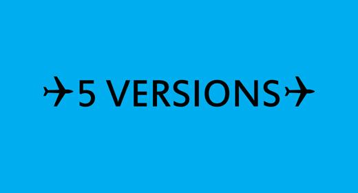 5 Versions