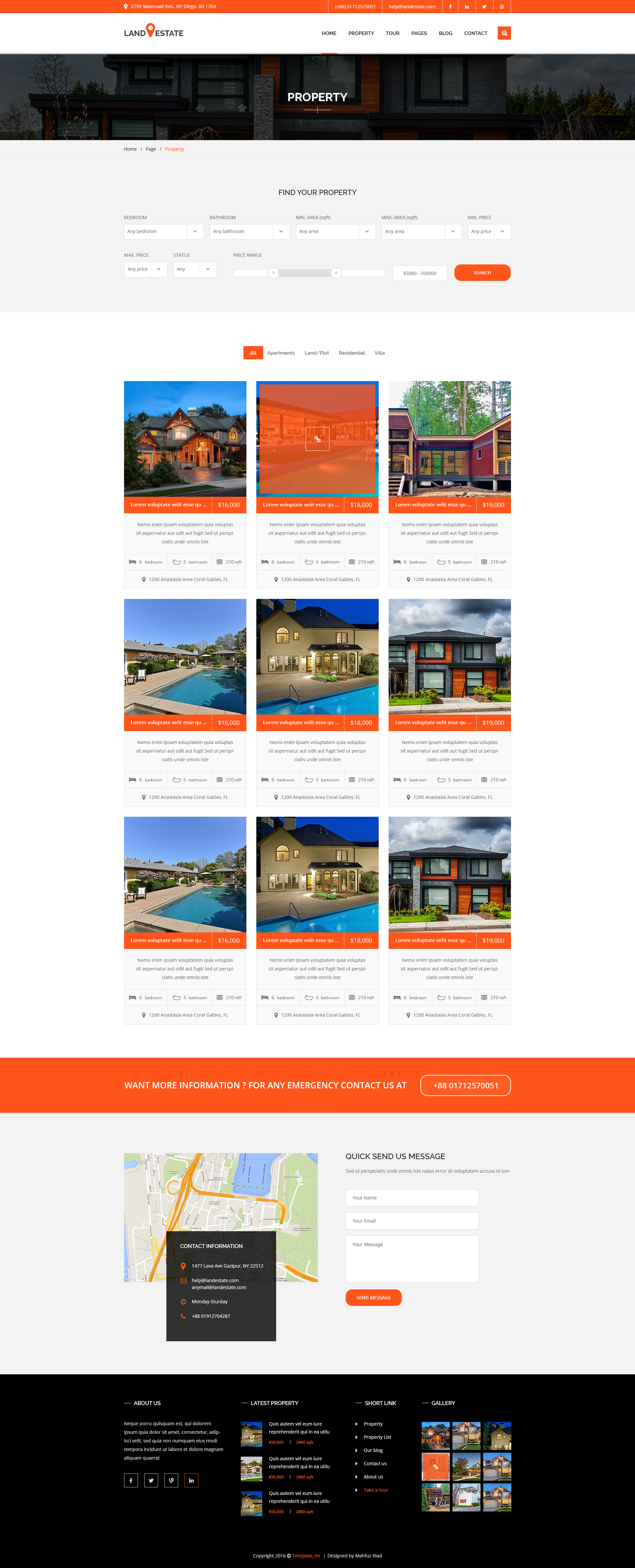 landestate properties real estate template by template mr landestate properties real estate template