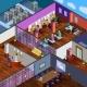 Development Office Isometric Design Concept