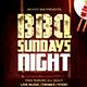 BBQ Sundays Night Flyer Template PSD