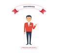 Merchandiser Man Competence and Decency