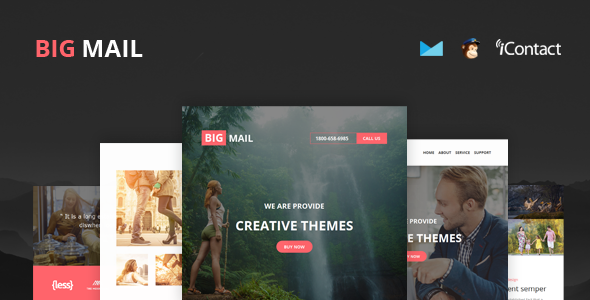 Big Mail - Responsive E-mail Template + Online Access
