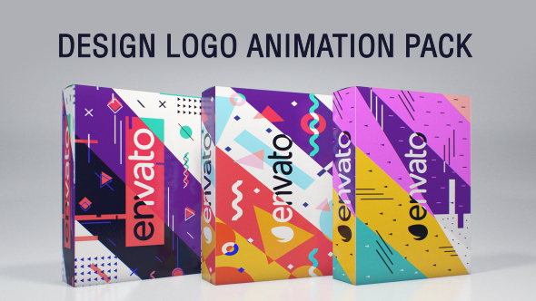 Design Logo Animation Pack 喜慶-Videohive中文最全的AE After Effects素材分享平台