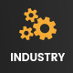 Digital Industry - Industrial Business PSD Template