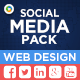 Social Media Pack Sets - 3 Designs - 24 Files - Images Included