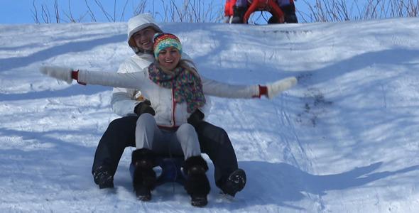 Having Fun In Winter