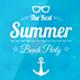 Summer Holidays Badges
