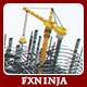 Construction Company Logo Buildup