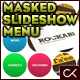 Circular Masked Slideshow XML Menu - ActiveDen Item for Sale