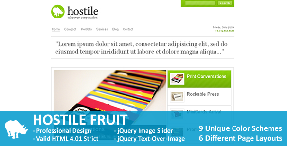 Hostile Fruit