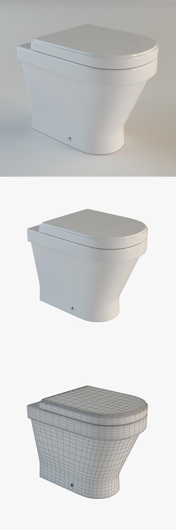 3DOcean Toilet Laufen 17093104