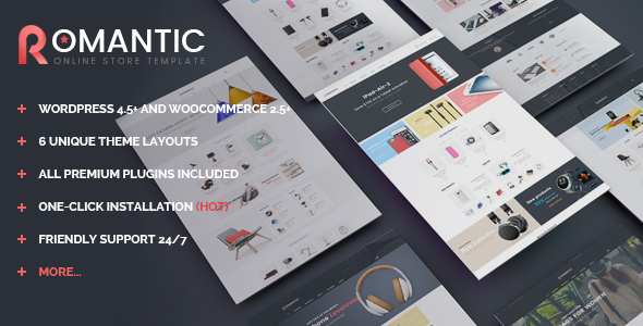 VG Romantic - Responsive Multipurpose WooCommerce Theme