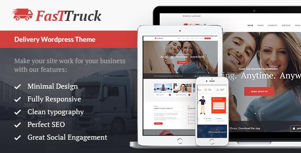 Fast Truck | Transportation & Logistics Theme