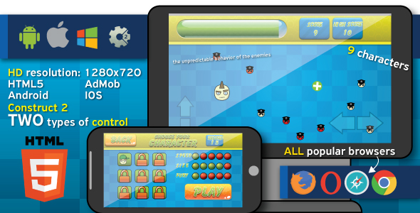 Hit and Run - HTML5 game (capx)