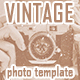 Vintage Old Photo Template