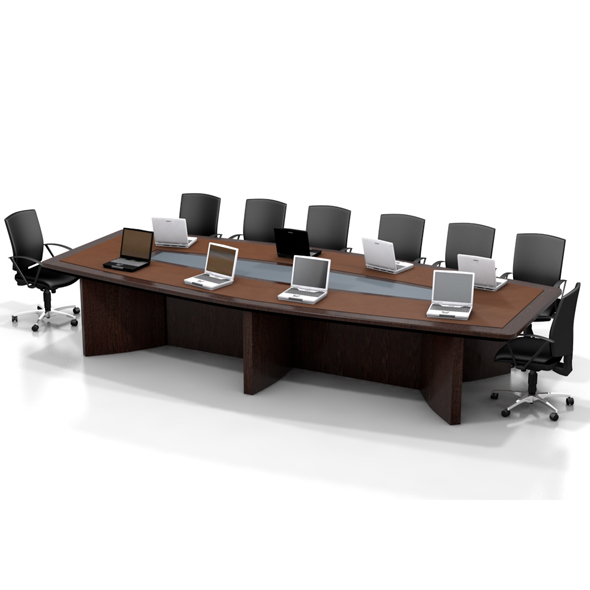 Office Conference Table - 3DOcean Item for Sale
