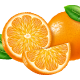Oranges Slices and Whole