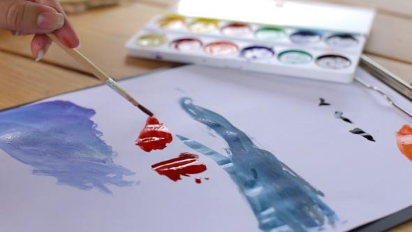 Download Artist Paints a Picture nulled download