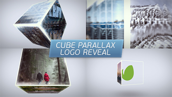 Cube Parallax Logo Reveal-Videohive中文最全的AE After Effects素材分享平台