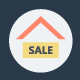 100+ Flat Real Estate Icons
