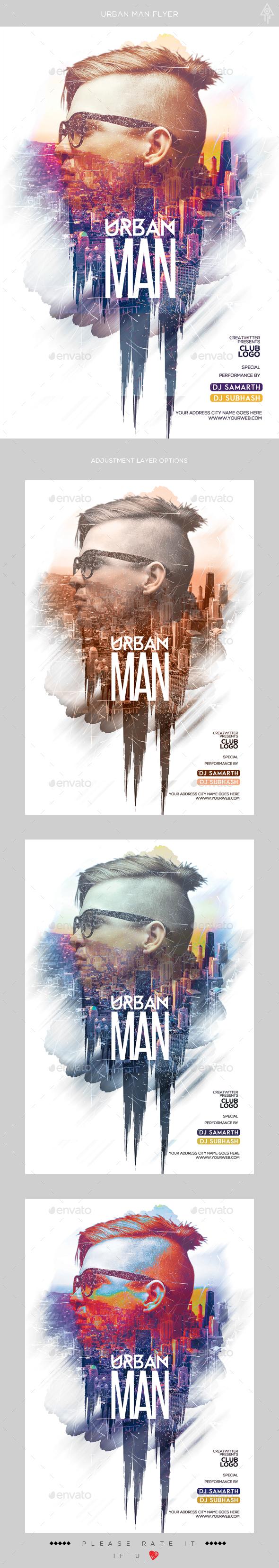Urban Man Flyer
