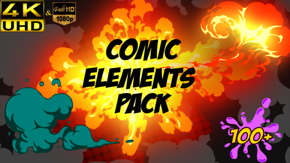 Comic Element Pack Download
