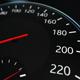 Car Speed Clock