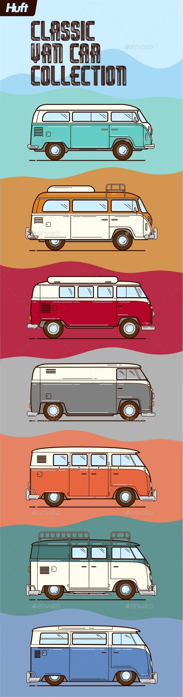 Classic Van Car Collections