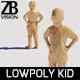 Lowpoly Kid 009