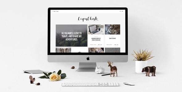 Image of CorpusChristi – A Responsive HTML5 Blog Template