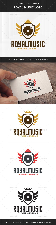 Royal Music Logo Template