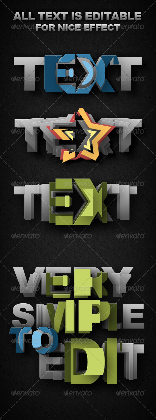 GraphicRiver Smart-Object Text 1701309