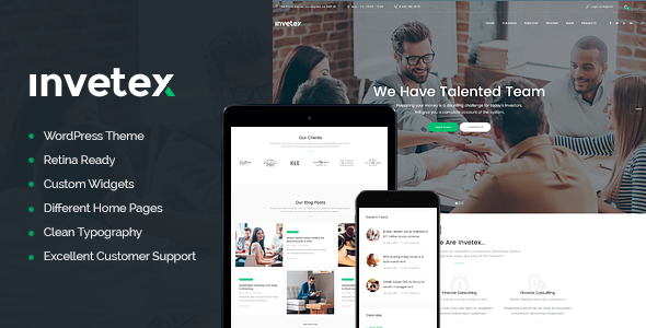 Download Invetex - Business Consulting & Investments nulled download