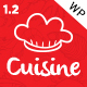 Cuisine - Responsive Restaurant WordPress Theme