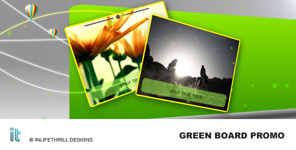 After Effects Project - VideoHive Green Board Promo 61131