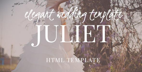 Juliet - Ultimate Ceremony & Wedding HTML5 template