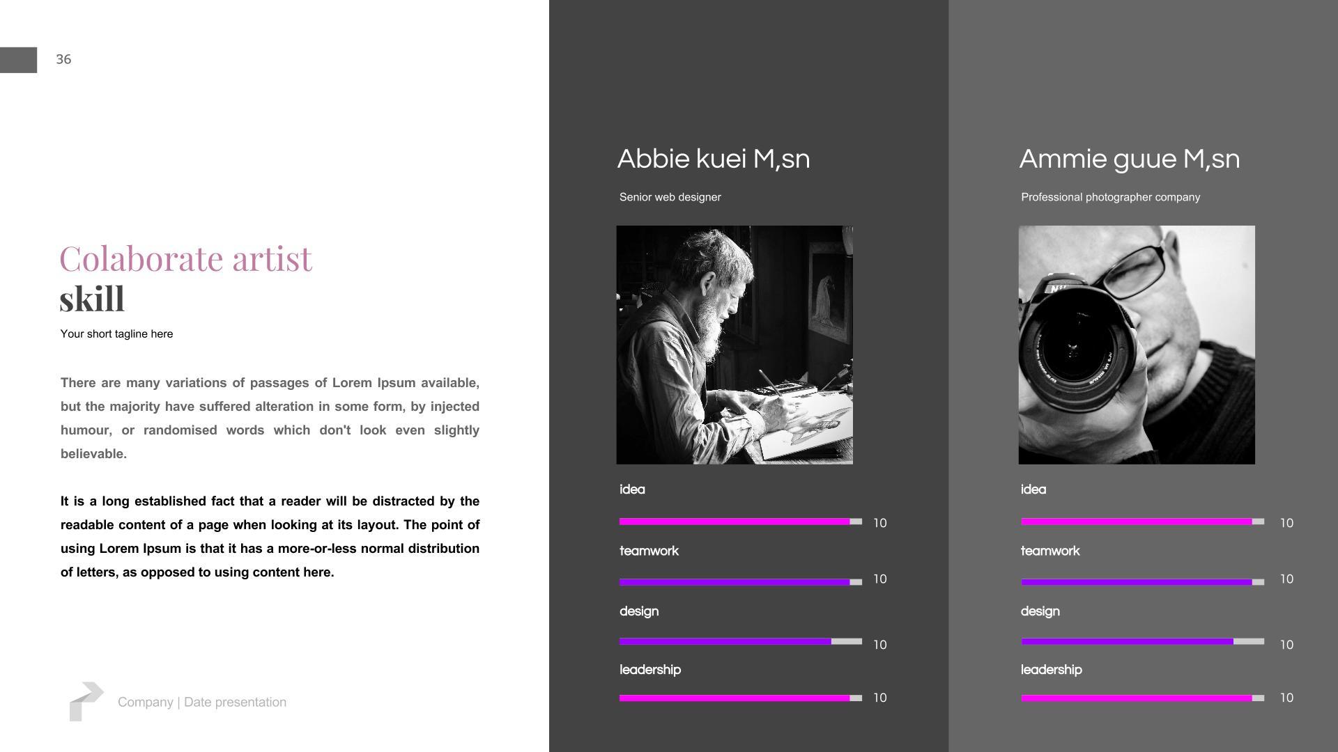 Creative Slides - Google Slides Presentation Templates