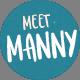 Meet Manny Typeface