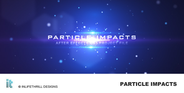 Videohive After Effect Project Particle Impacts