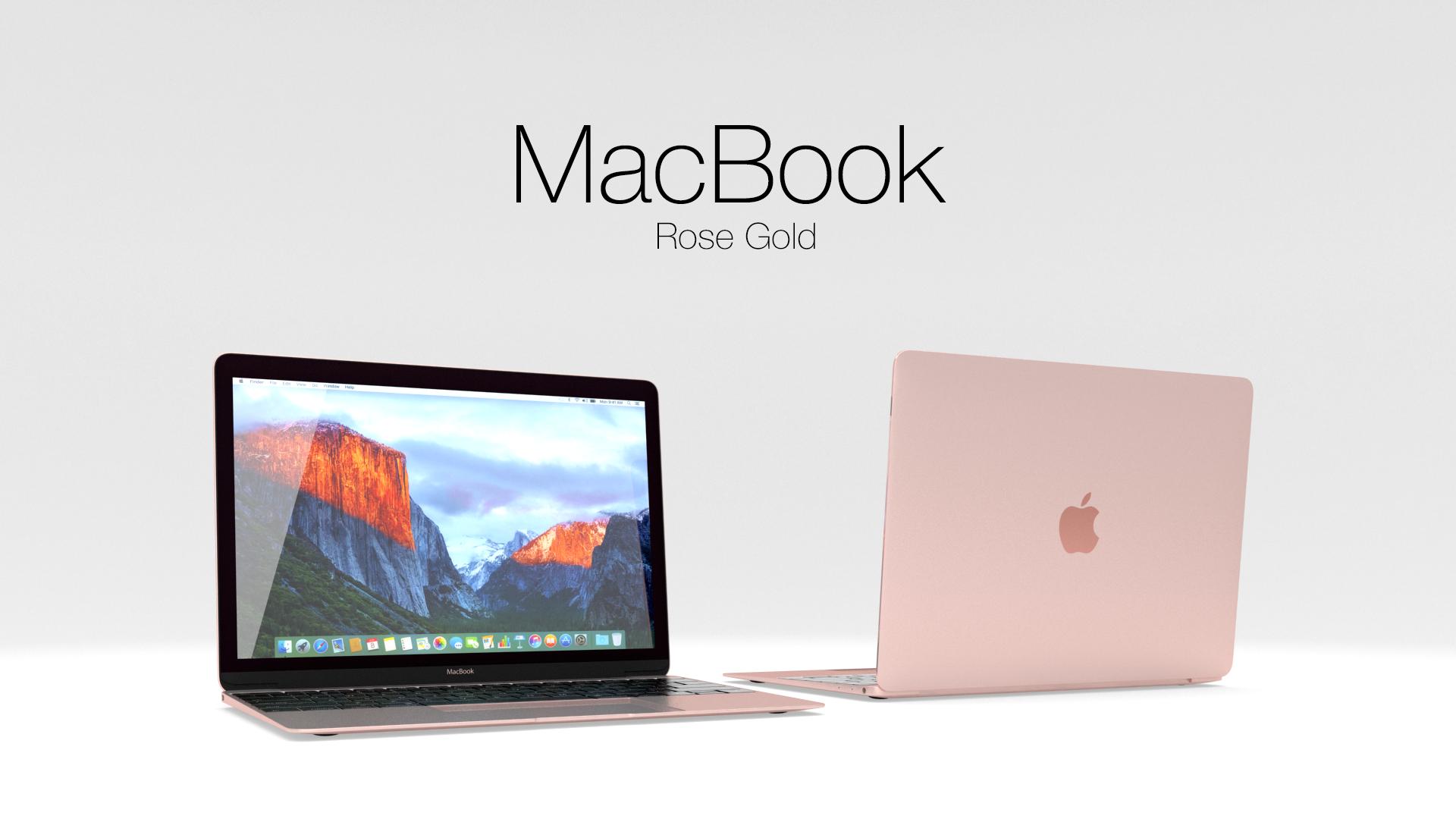 Apple Macbook By Muminjon12 3docean