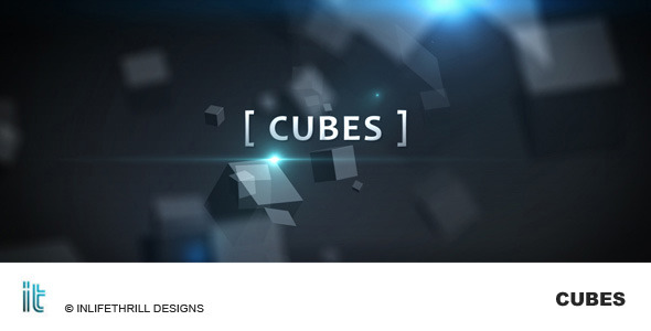 After Effects Project - VideoHive Cubes 113831