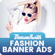 Fashion Banners Html5 - Google Web Designer