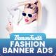 Fashion Banners Html5 - Google Web Designer