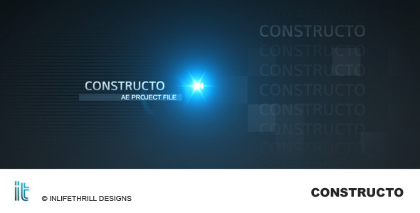 After Effects Project - VideoHive Constructo 123045