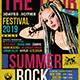 Summer Rockfest Flyer Template