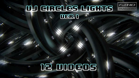Download VJ Loops Circles Lights Ver.1 - 12 Pack nulled download