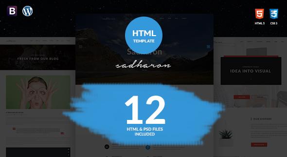 Sadharon - Creative Portfolio HTML5 Template