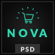 Nova - Fashion eCommerce PSD Template