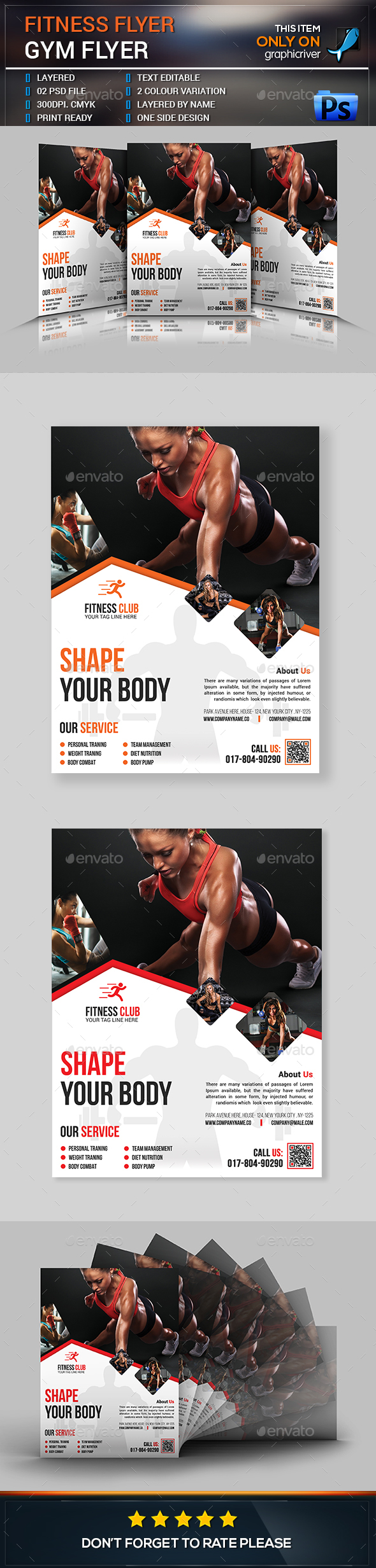 Fitness Flyer / Gym Flyer