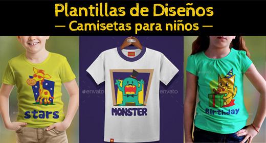 Diseños Camisetas de niño